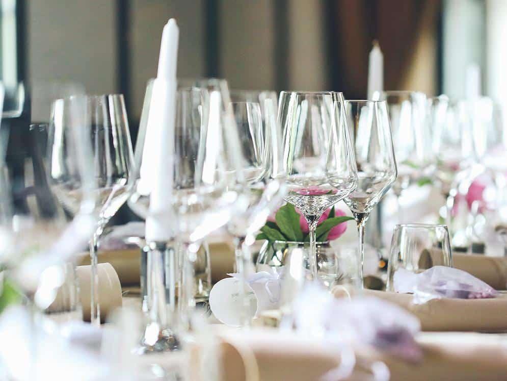 Restaurant - Angerichteter Tisch