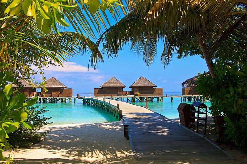 Beitragsbild: Malediven (Bungalows)