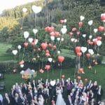 Start Luftballons Hochzeitsgesellschaft Einfach Heiraten