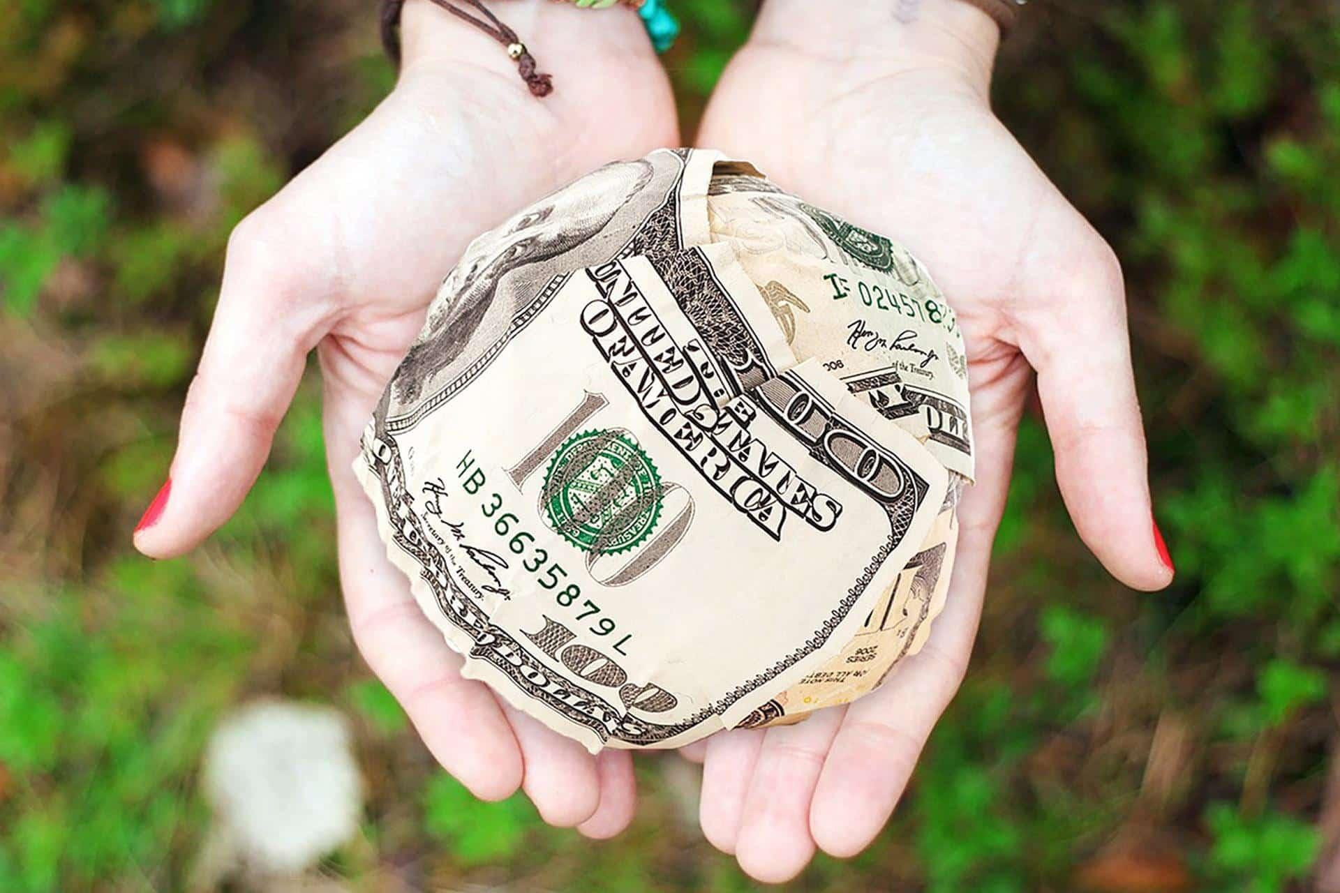 Geld für den guten Zweck