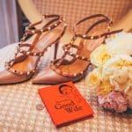 Brautschuhe Brautstrauß Buch Penny