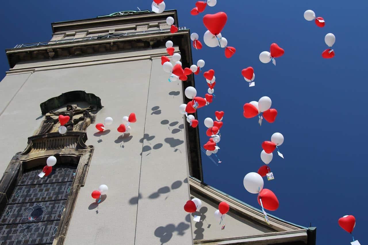 Einfach-Heiraten Luftballons