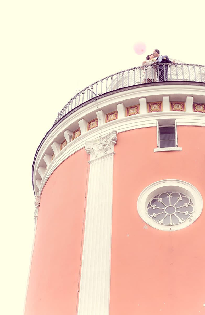Einfach heiraten Mecklenburg Vorpommern Turm