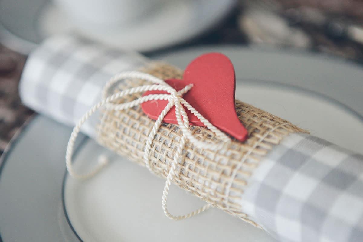 Einfach heiraten Hochzeit Servietten