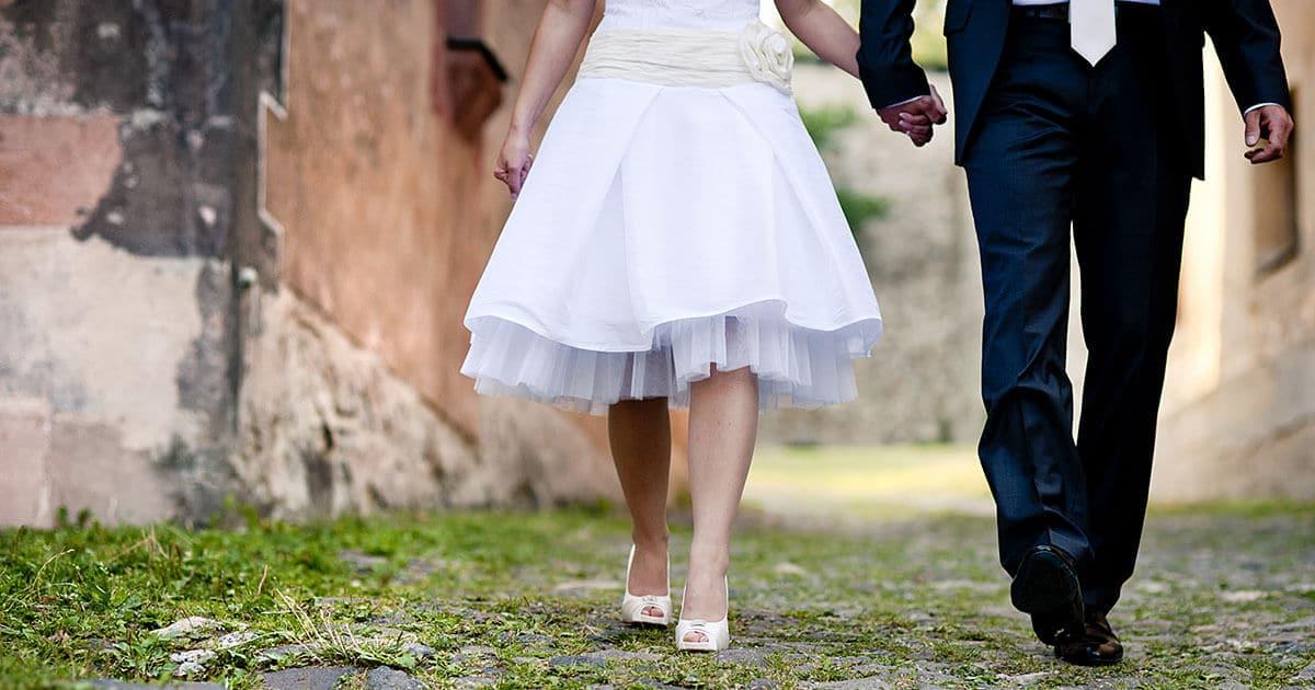 Einfach Heiraten Kurze Kleider